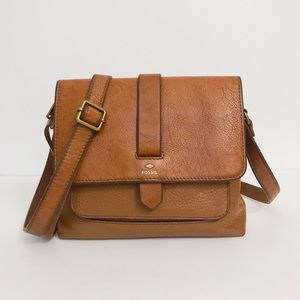 Fossil Kinley Leather Cross Body Purse